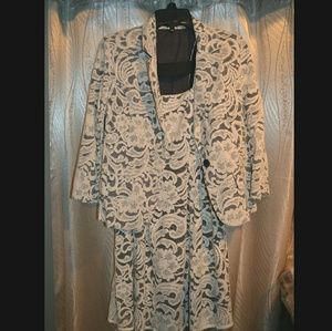 Dresses & Skirts - SALE Lace Dress & Jacket Set